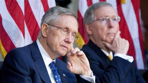 At stake: which of these old white men will run the Senate
