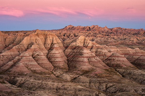 If you've never been to South Dakota - plan a visit.  Between the surreal beauty of the Badlands, Mt. Rushmore, buffalo herds, the black hills, prairies and Laura Ingalls Wilder sites, the state is an amazing tourist destination!