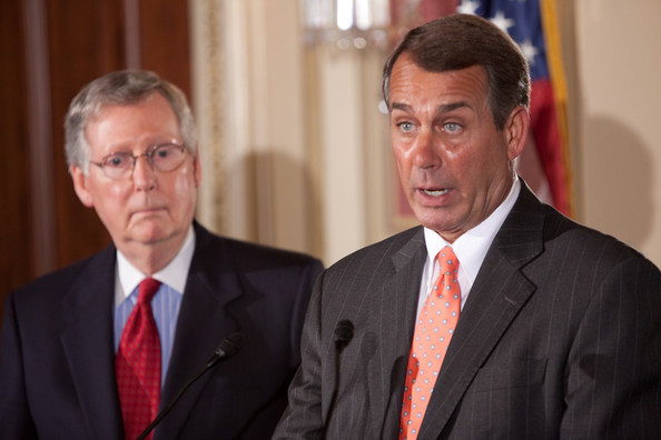McConnell and Boehner, the leaders of the Senate and House