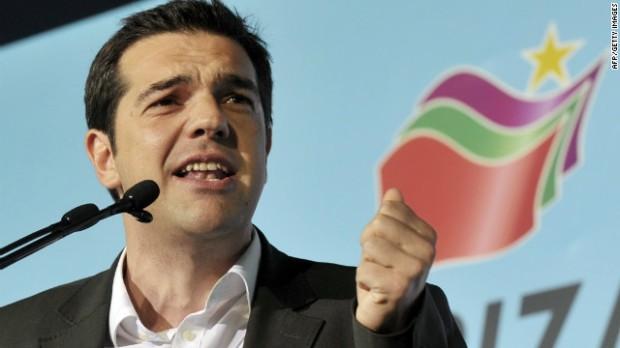 Syriza's leader Alexis Tsipras