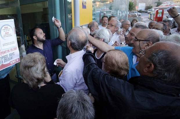 Last week's bank closures gave the Greeks a taste of what default would mean
