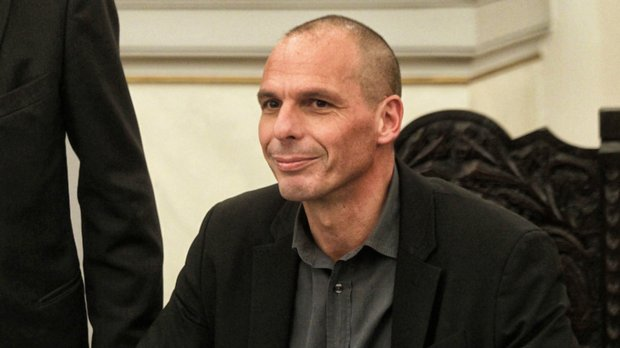 Finance Minister Yanis Varoufakis says he will resign if the yes side wins Sunday, signaling that Syriza's government needs a no vote to survive