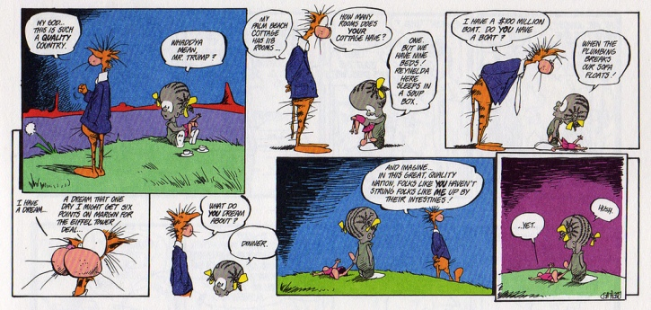 Another Bloom County spoof on Trump from the 80s.