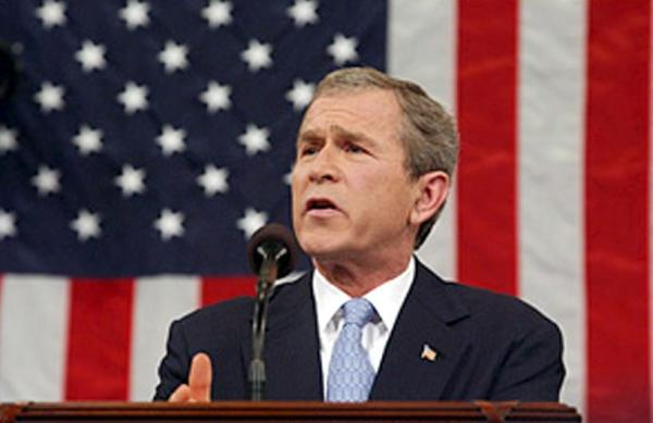 Iran took President Bush's threat to eliminate the