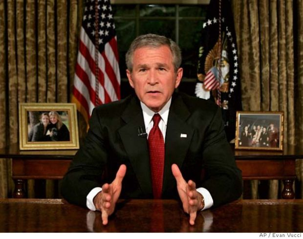 Although he would be later vilified for the Iraq war, the country came together under President Bush after 9-11, refusing to politicize a national tragedy