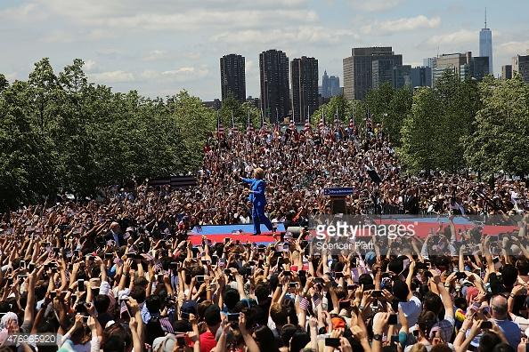 <> on June 13, 2015 in New York City.