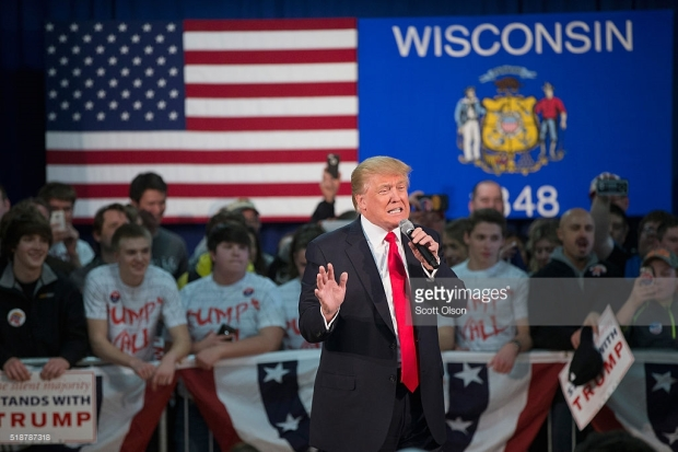 <> on April 2, 2016 in Rothschild, Wisconsin.